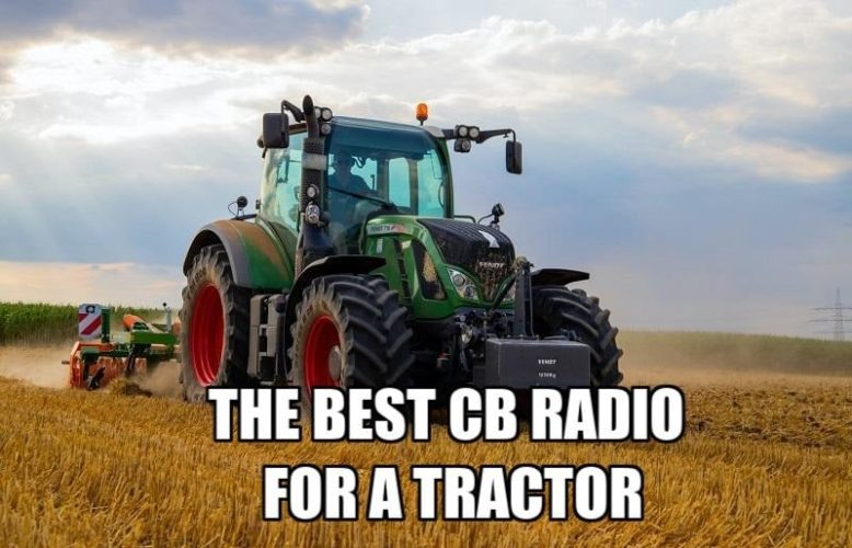 a combine tractor